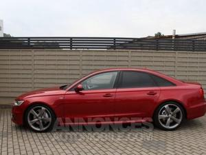 Audi A6 QUATTRO 3.0 TDI245 DPF S LINE S TRONIC SS rouge
