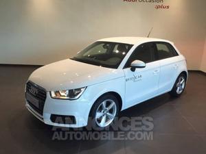 Audi A1 Sportback 1.4 TDI 90 Ambition S tronic blanc
