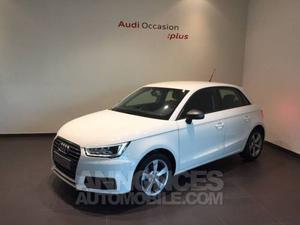Audi A1 Sportback 1.6 TDI 116 Ambition blanc métallisé