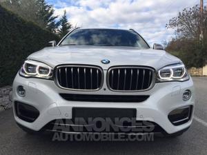 BMW X6 5.0i V8 Bi Turbo 450cv blanc métal