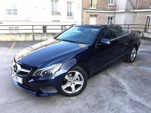 Mercedes-Benz Classe E CLASSE E CABRIOLET (A CDI
