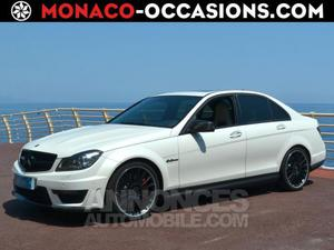 Mercedes Classe C 63 AMG Pack performance 487ch blanc
