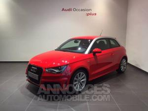 Audi A1 1.4 TFSI 185 Ambition Luxe S tronic rouge