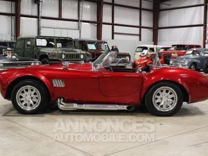 Shelby Cobra cabriolet rouge laqué