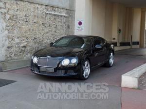 Bentley Continental GT GT COUPE W12 noir