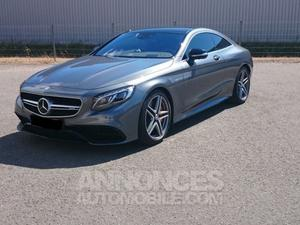 Mercedes Classe S COUPE S 63 AMG 4 MATIC 1ere main gris