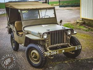 Jeep Willys SLAT GRILL d'occasion
