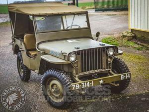 Jeep Willys SLAT GRILL vert