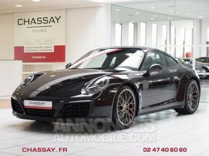 Porsche  Carrera 4S noir intense