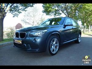 BMW X1 25DA M SPORT X-DRIVE 218 CH KM 1° MAIN