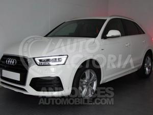 Audi Q3 2.0 TDI 184CV STRONIC4X4 SLINE blanc blanc