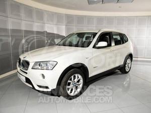 BMW X3 20 D 184 CV 6MT SPORT DESIGN blanc blanc