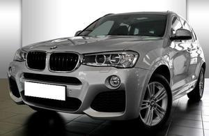 BMW X3 X3 X-DRIVE 20D 190 CV BM6 PACK SPORT M GPS XENONS LED