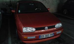 VOLKSWAGEN Golf Cabriolet 1.8i