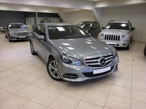 Mercedes-benz Classe e (W BLUETEC EXECUTIVE