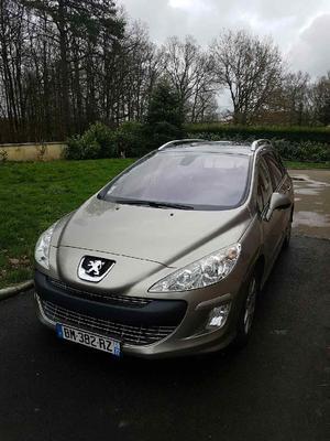 Peugeot 308 16l hdi navteq 2009 occasion diesel i seine et ...
