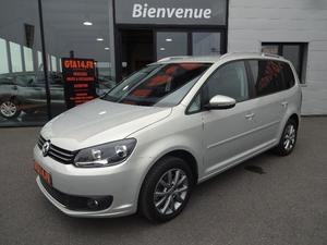 volkswagen touran touran movie 20l 140 cv noir me cannes cozot voiture. Black Bedroom Furniture Sets. Home Design Ideas