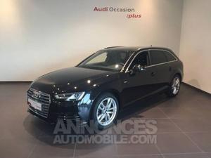 Audi A4 Avant 2.0 TDI 150 S tronic 7 S line noir métallisé