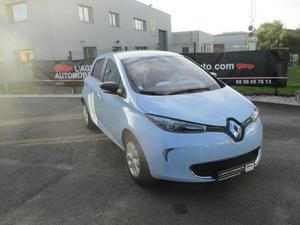 Renault Zoé Life charge rapide GPS Bluetooth Radar