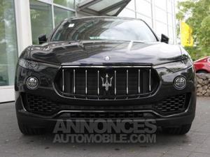 Maserati Levante diesel noir métal