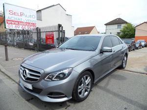 Mercedes-Benz Classe E CLASSE E (W BLUETEC