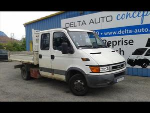 IVECO Daily DAILY CCB 35C13 BENNE DBLE CABINE 7 PL