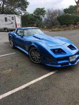 CHEVROLET Corvette Cabriolet A
