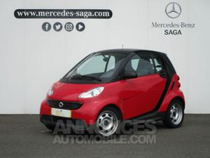 Smart Fortwo Coupe 61ch mhd Pure Softip rallye rouge