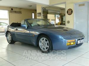 Porsche 944 S2 3.0 L CABRIOLET bleu baltic metallise