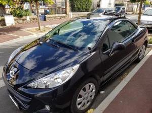 Peugeot 207 CC Diesel 1.6 HDi 112ch FAP SPORT Noire (6 CV)