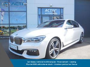 BMW Série 7 (g11/gda xdrive 320ch m sport