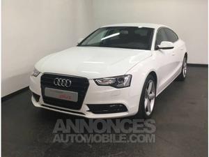 Audi A5 Sportback 2.0 TDI 177 Ambiente Plus blanc