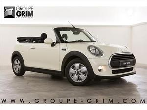 Mini Mini coupe CABRIOLET F57 CABRIOLET ONE 102 CH Finition