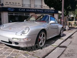 Porsche  CARRERA 4S gris clair métallisé