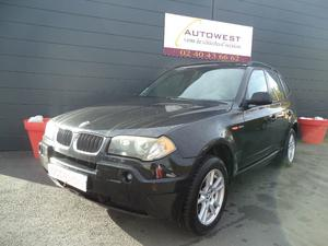 BMW X3 3.0DA 204CH LUXE TOIT PANORAMIQUE