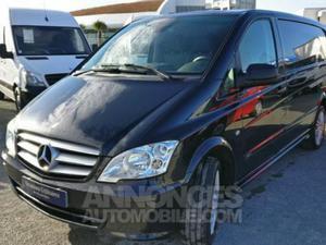 Mercedes Vito Fg 116CDI Long 2t8 Pk Clim BVA noir obsidienne