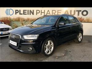 Audi Q3 tdi 140 quattro sline s tronic 2.0 TDI 140CH S LINE
