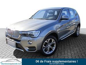 BMW X3 (F25) XDRIVE20DA 190CH XLINE + TOIT OUVRANT