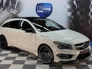 Mercedes CLA Shooting Brake 45 AMG 4MATIC blanc calcite