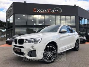 BMW X4 XDRIVE 2.0D 190 PACK SPORT M BVA8 blanc alpin verni