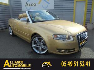 Audi A4 CABRIOLET CABRIOLET 1.8 T 163 S LINE  Occasion