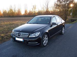 MERCEDES Classe C 200 CDI BlueEFFICIENCY Avantgarde