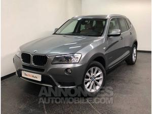 BMW X3 F25 xDrive20d 184ch Luxe Steptronic A gris
