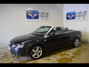 Audi A4 CABRIOLET CABRIOLET 1.8 T 163 PACK PLUS