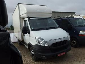 Iveco Daily ccb 35C15 EMPATTEMENT  CAIISSE ALU 20 M3