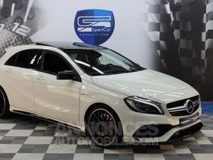 Mercedes Classe A A 45 AMG 4MATIC blanc calcite