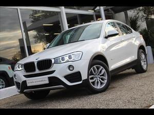 BMW X4 (F26) (F26) XDRIVE20D 190 LOUNGE PLUS BVA