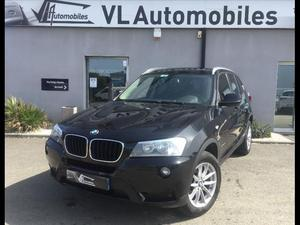BMW X3 XDRIVE 20D 184 CH CONFORT + GPS  Occasion