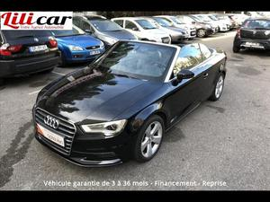Audi A3 A3 Cabriolet 2.0 TDI 150 Ambition Luxe  Occasion