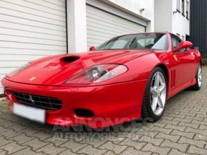 Ferrari 575 M Maranello F1 rouge